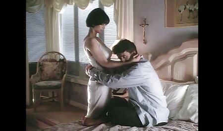Nghiệp dư, ngón tay, secgai xinh Lovelace giữa phòng lớn vắt sữa trong phòng ngủ